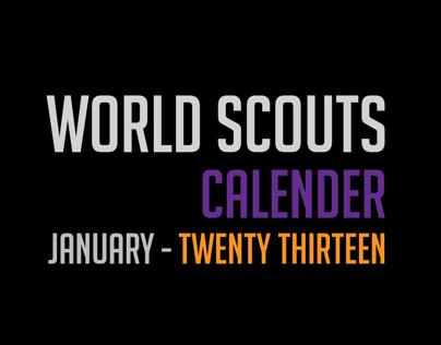 World Scouts Calendar 2013