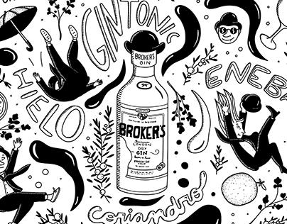Broker's Gin- Chinchibira Bar (Rosario)
