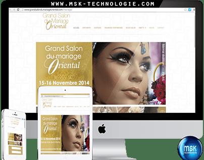 Website Sallon mariage Oriental France