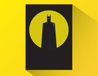 Super Heros & Villains Minimalist Posters