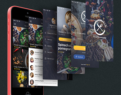 Food Community App