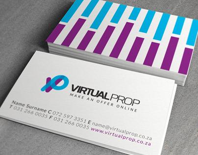 VirtualProp Logo & CI Design