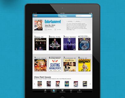 Time Inc. Tablet Commerce App