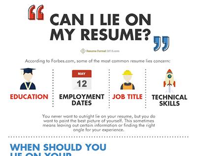 Resume Format 2016 On Behance