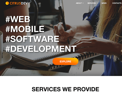 Web Development Agency Website