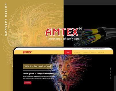AMTEX - Cable Company Web Design