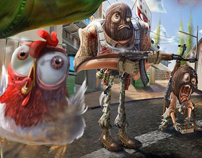 Ilustra Game - CS GO