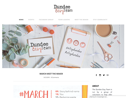 Dundee Etsy Team