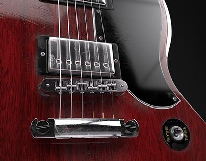 Gibson SG   Polygon modeling