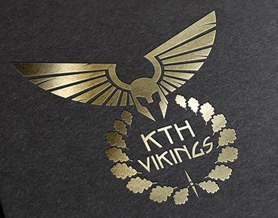 KTH Vikings Logo Design