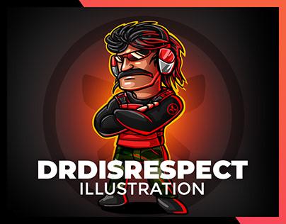 DRDISRESPECT Character Illustration