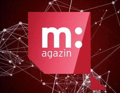 m:agazin opening graphics