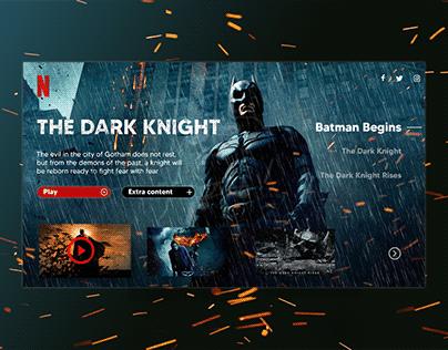 Netflix UI redesign