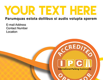 Stationary Template for Parking Industry