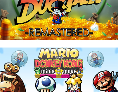 Article Header Illustrations for GameBlast
