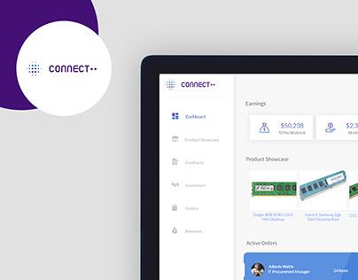 Connect ++ Platform - B2B UI/UX Design