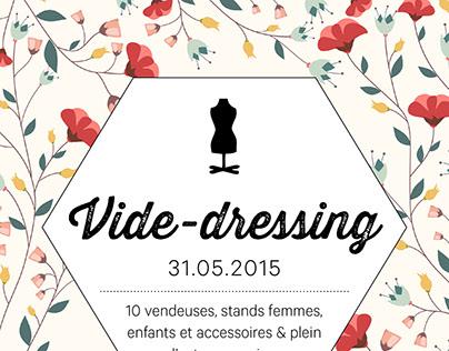 Affiche vide-dressing - 2015