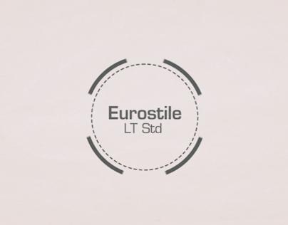 Eurostile Typeface motion
