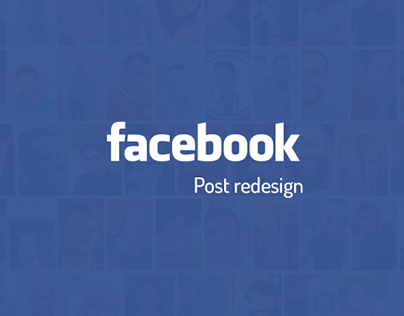 Facebook Post re-design #Updated