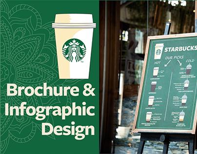 Brochure & Infographic Design - Starbucks