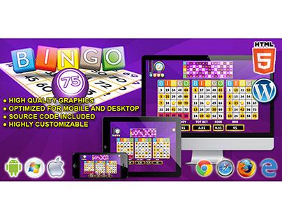 HTML5 Game: Bingo 75