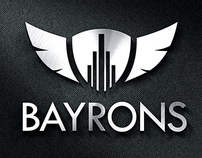 Bayrons  Logo Design