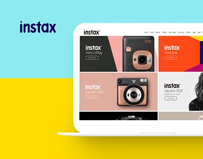 Fujifilm Instax® - UI/UX Website