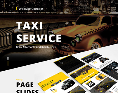 Website Design - Prestige Cabs