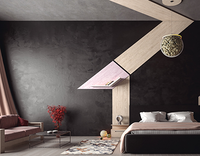 3d max vray render for bedroom ,interior design