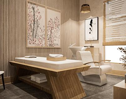 Japandi Home Massage