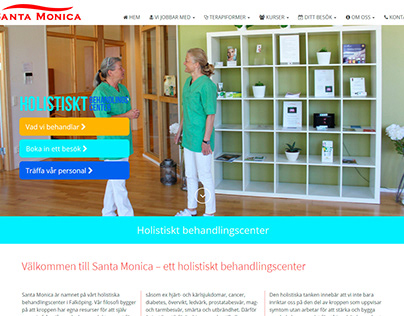 Homepage for Santa Monica