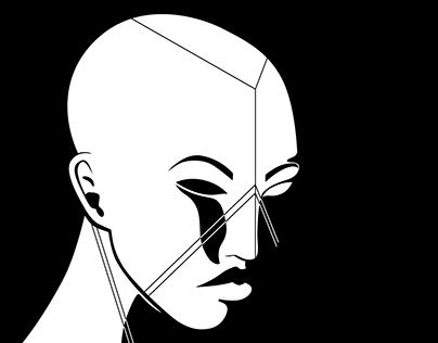 Geometric Face Painting II