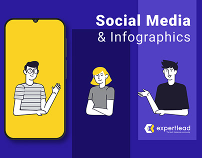 Social Media & Infographics for Expertlead