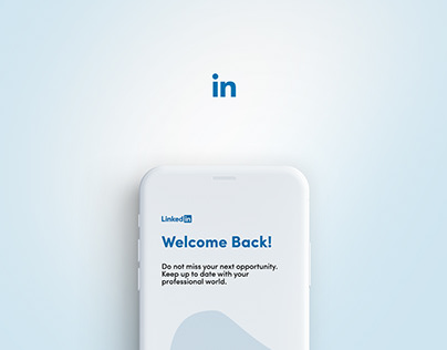 LinkedIn Mobile App | UI/UX Design