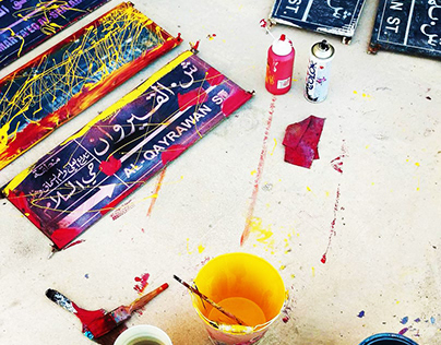 Art attacks - Water colors and oils