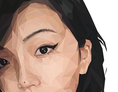 Low Poly Self Portrait \
