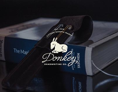Identidade Visual Donkey Handwriting