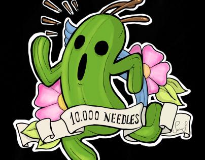 10000 needles