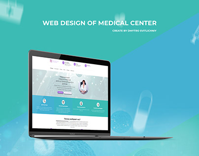 Web Design of Medical center | Dr. Korol