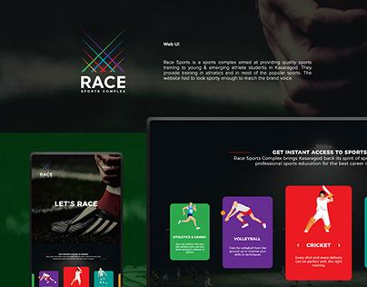 Web UI for Race