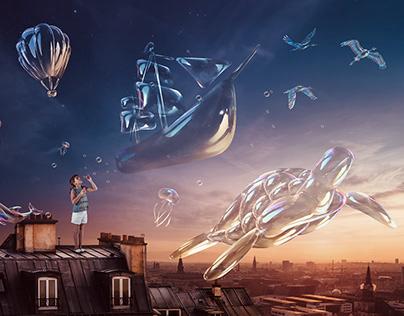 Bubbles V.02 - Creative Retouch