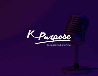 K-Purpose Radio Station Brand Identity