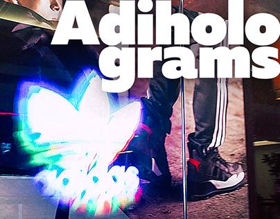 Adiholograms | Device instalation & 3D-holograms