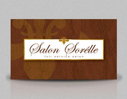 Salon Sorélle Branding