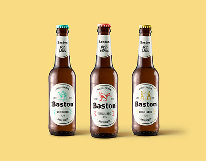 Baston Brewery – Typeface & branding