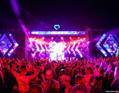 Beach Party Trzcianka 2017 - Stage Design