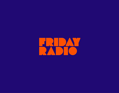 Friday Radio Logo Branding