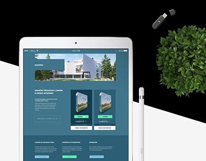 Lumion 3D/ Strona WWW
