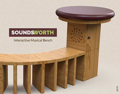 SOUNDSWORTH- Interactive Musical Bench