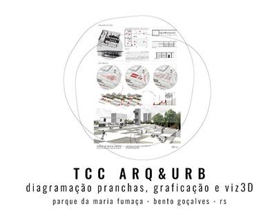 TCC Arq & Urb | Parque da Maria-Fumaça, BG - RS